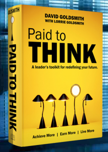 Paid To Think, book by David Goldsmith